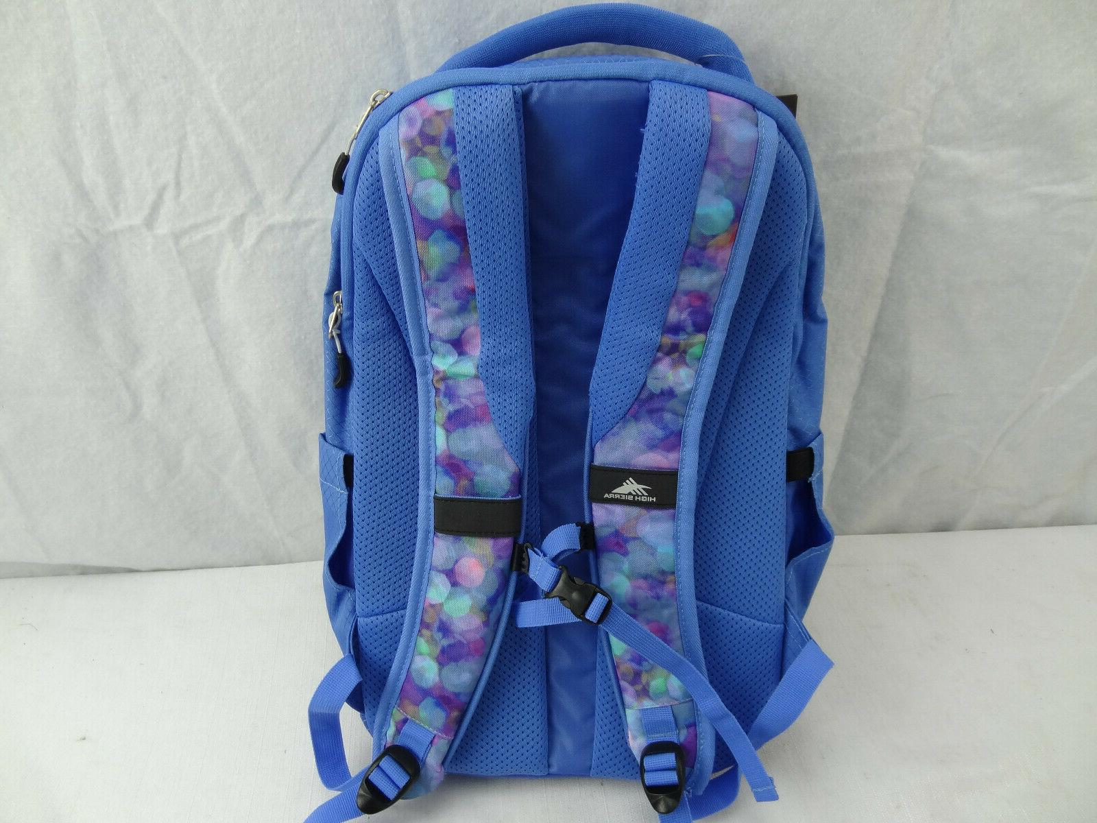 High Everyday Backpack Light Blue New