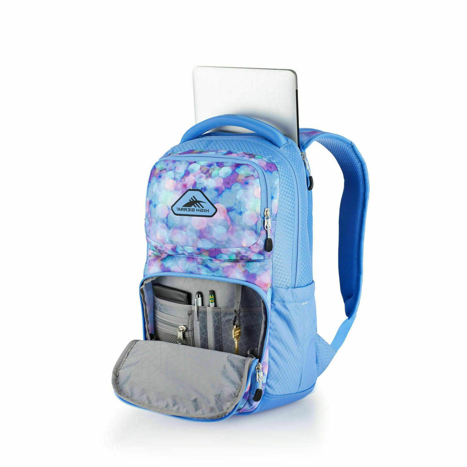 everyday laptop backpack light blue new