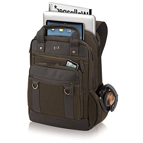 Solo Crosby Backpack Brown