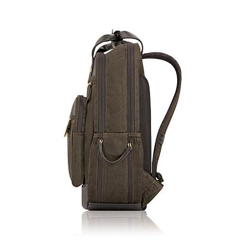 Solo 15.6 Inch Backpack Padded Brown