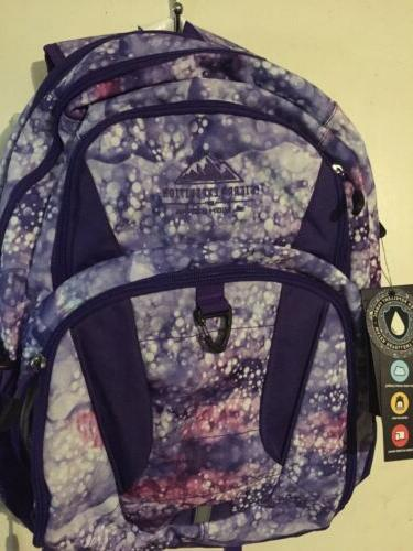 expedition 18 5 purple print cymba backpack