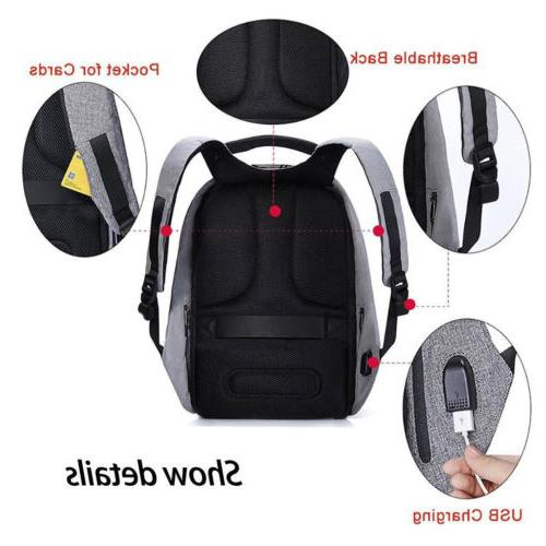 Fashion Travel Backpack Laptop Notebook Christmas