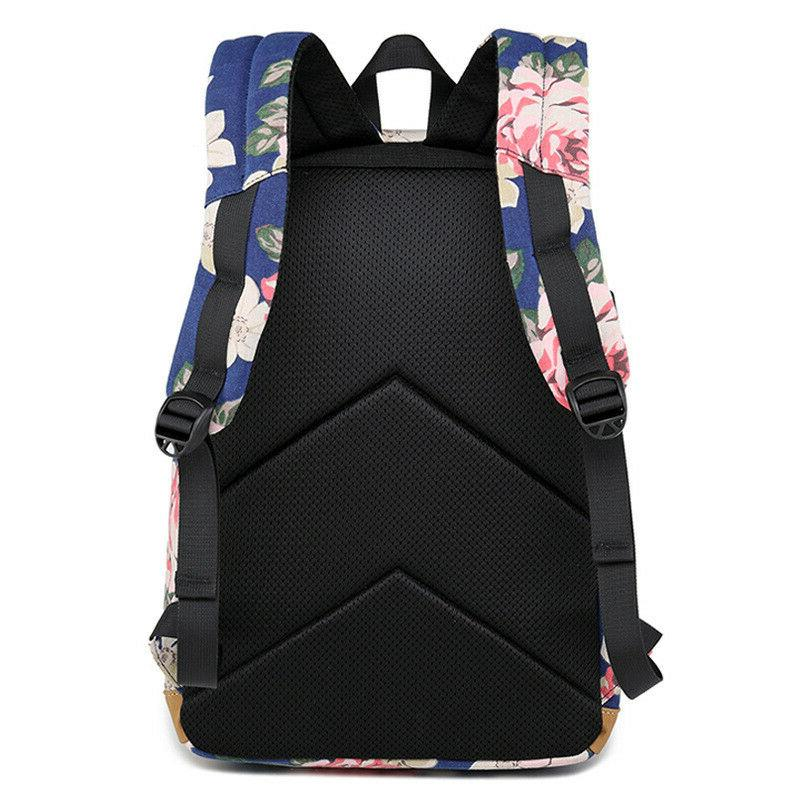 Fashion Printing Women Waterproof Laptop School Bag