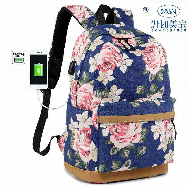 Fashion Backpack Women Waterproof School