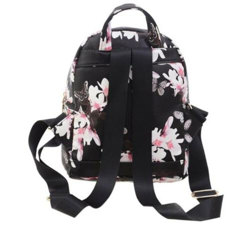Leather Backpack Backpack Style girl