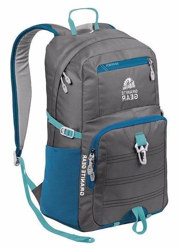 """Granite 15.5"""" Backpack Book Bag"""