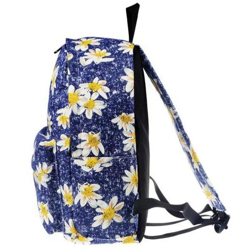 Canvas Floral Bags Women Outdoor