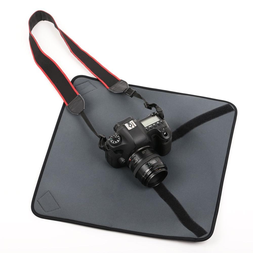<font><b>Camera</b></font> Wrap <font><b>Waterproof</b></font> 40*40cm Lens Folding Cloth Cover Rain for