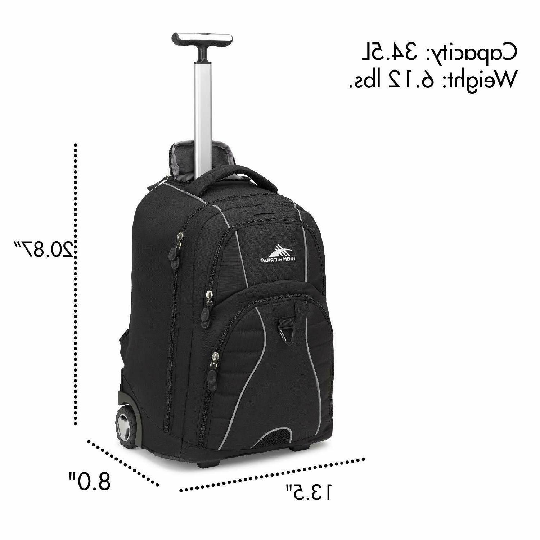 High Sierra Laptop Backpack, 15-inch Laptop