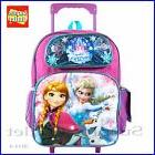 "Frozen Backpack Disney Frozen 16"" Large School Rolling Backp"