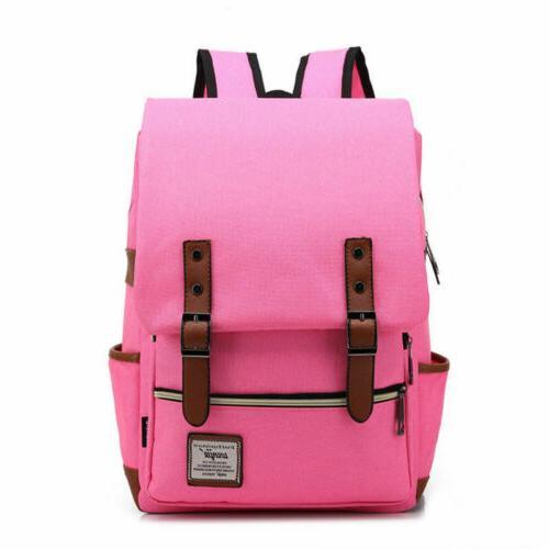 Girl Leather Travel Backpack Satchel Rucksack School