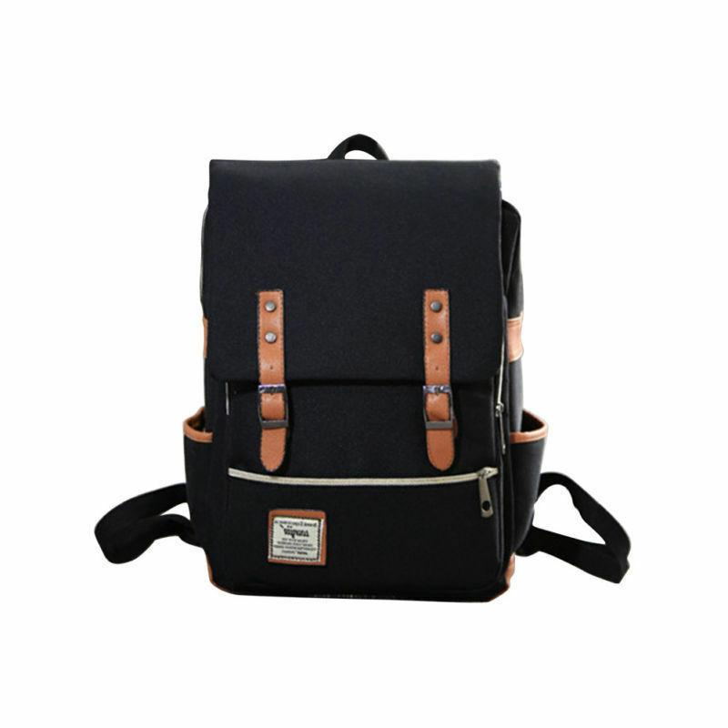 Girl Women Leather Rucksack Laptop