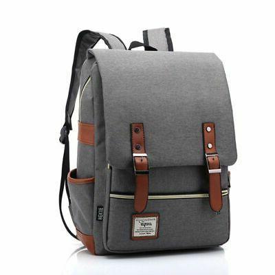 Girl Leather Travel Rucksack Laptop School