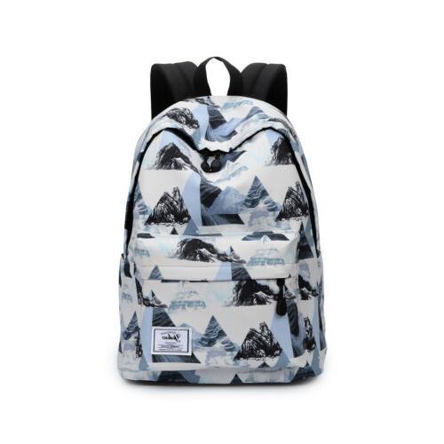 Girls boys Shoulder Backpack School Laptop 32*42*17cm