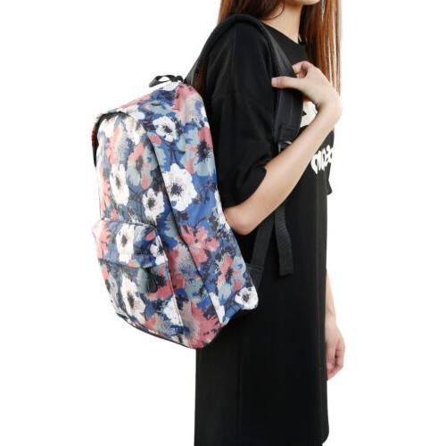 Girls boys Canvas Backpack Laptop Bag 32*42*17cm