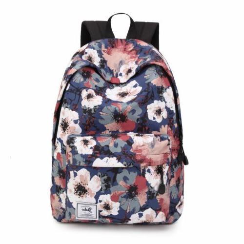 Girls Backpack Rucksack Travel Laptop 32*42*17cm