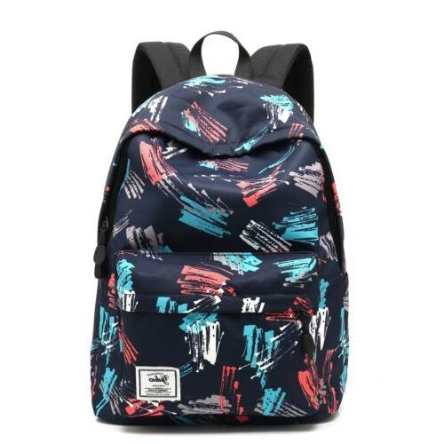 Girls boys Backpack School Laptop Bag