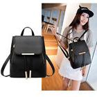 Fashion Girls Women Leather Satchel Backpack Travel Rucksack