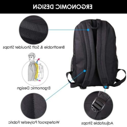 Waterproof Backpack USB Charging at