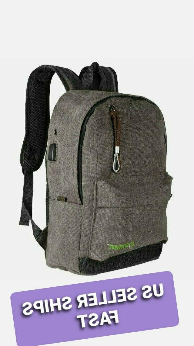 graysport laptop backpack travel computer bag