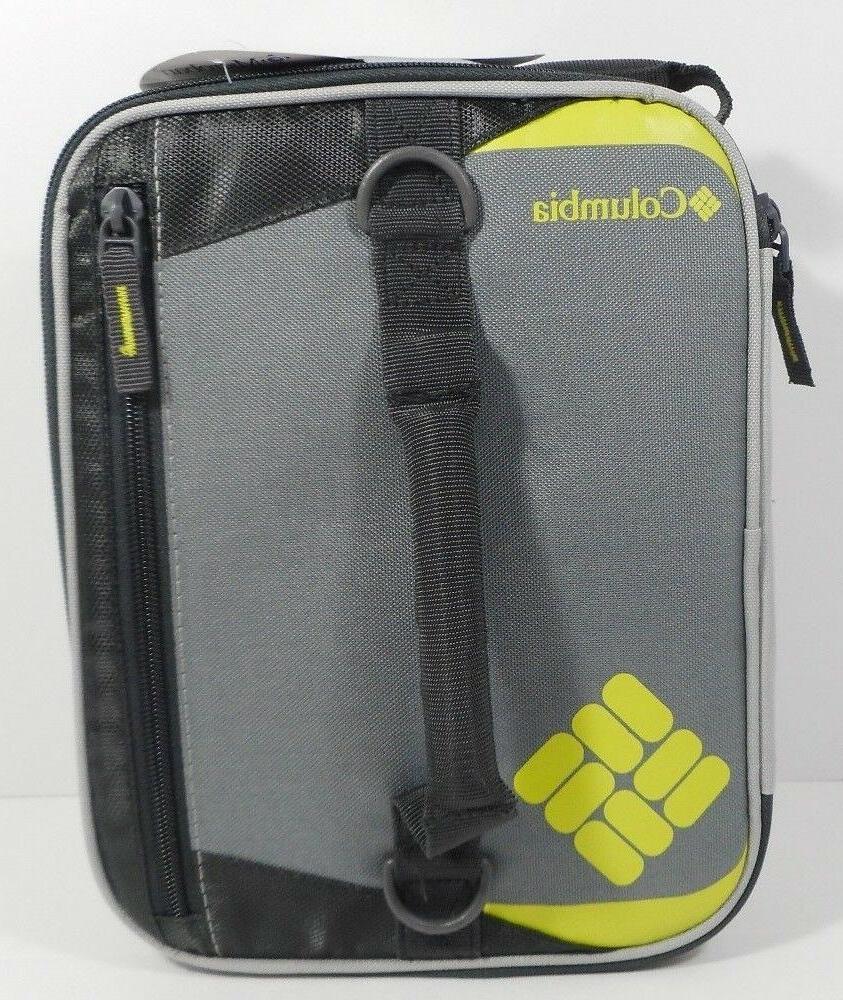 Columbia Grid Line Cooler Bag Expandable
