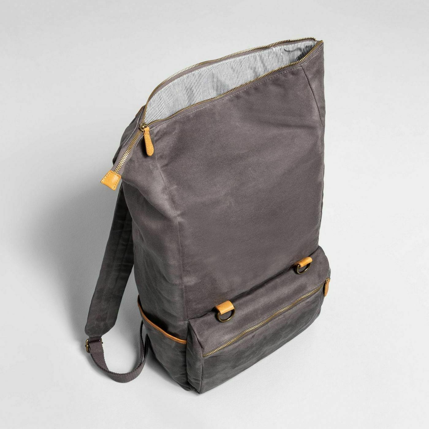 Hearth & Magnolia Gray Backpack Canvas retail at Target!