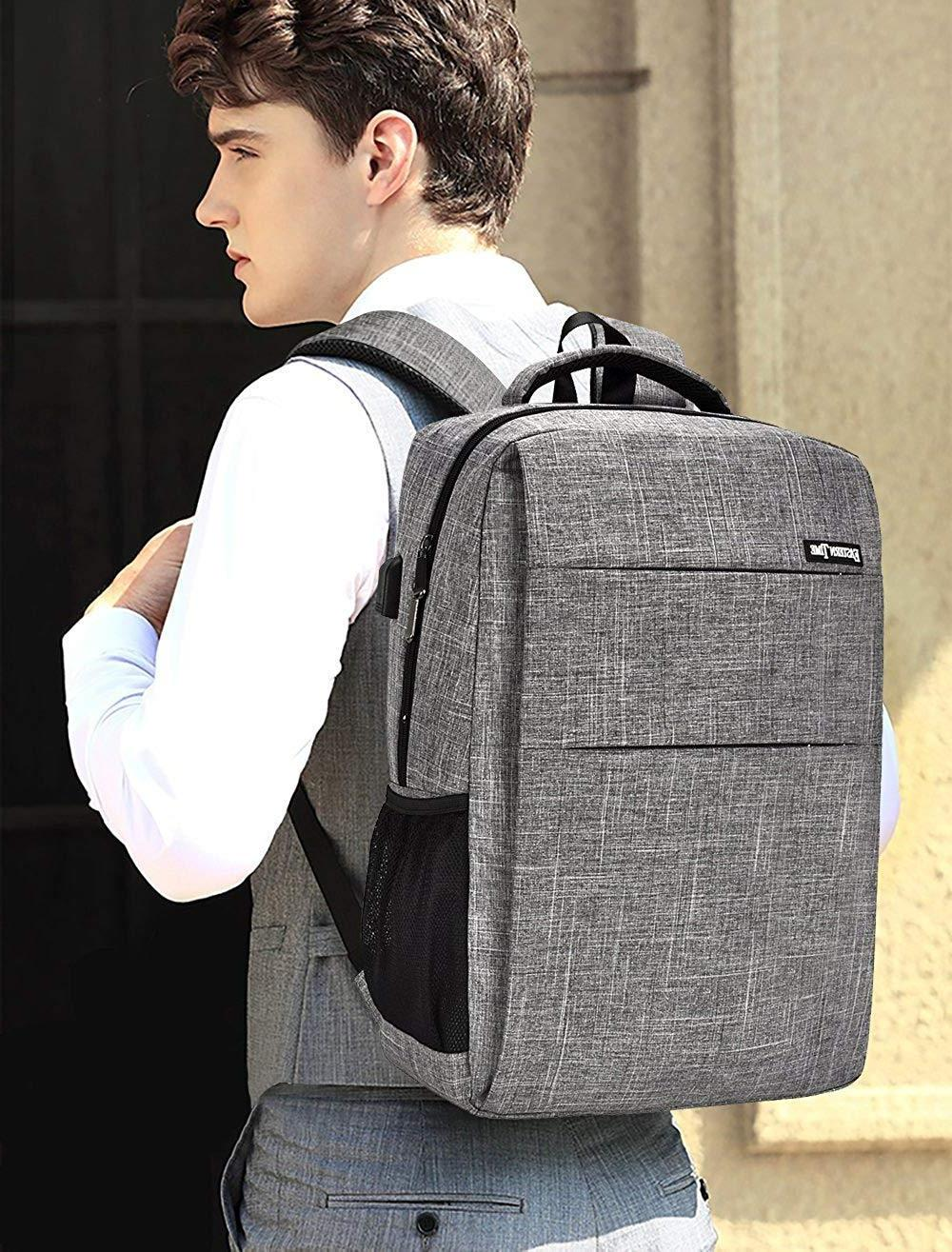 "High School Backpack, 15.6"" 17"" College Business Travel Lapt"