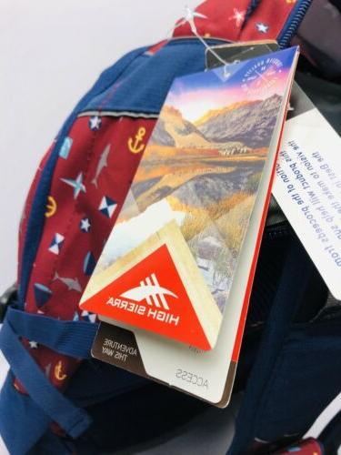 High Printed Backpack!! Nwt!! Msrp $89.99