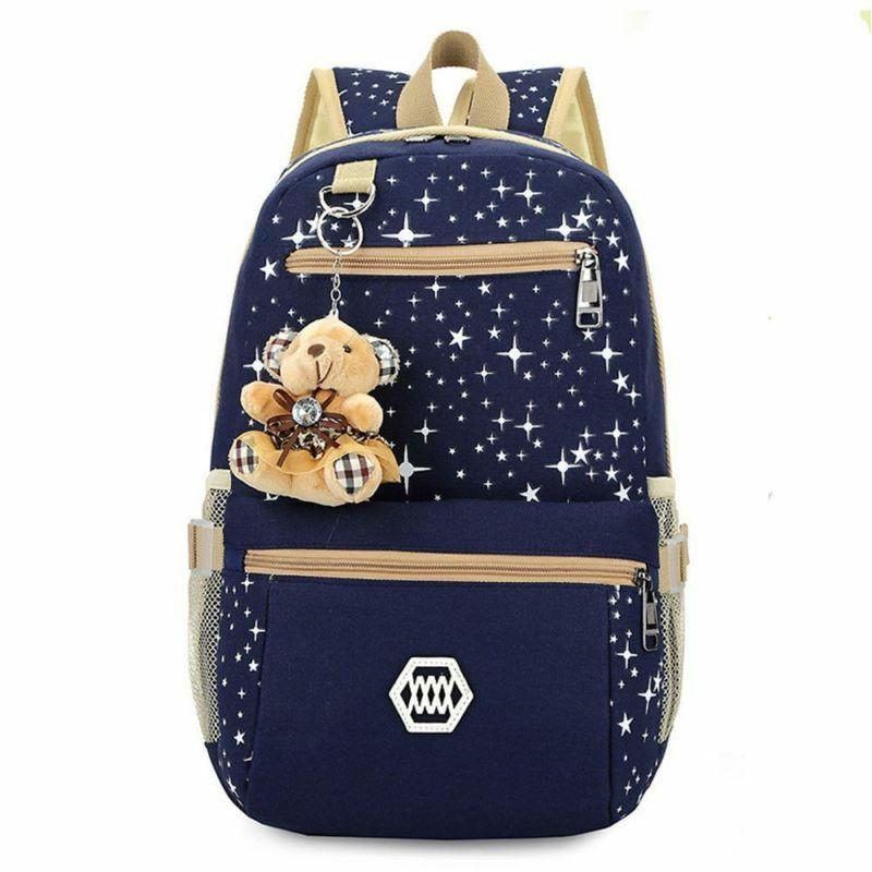 HOT Women Bookbag Laptop Bagpack School for US