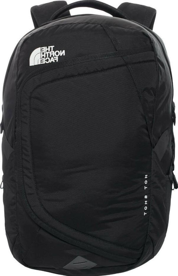 THE FACE Hot Shot Backpack Laptop BLACK NEW TAGS