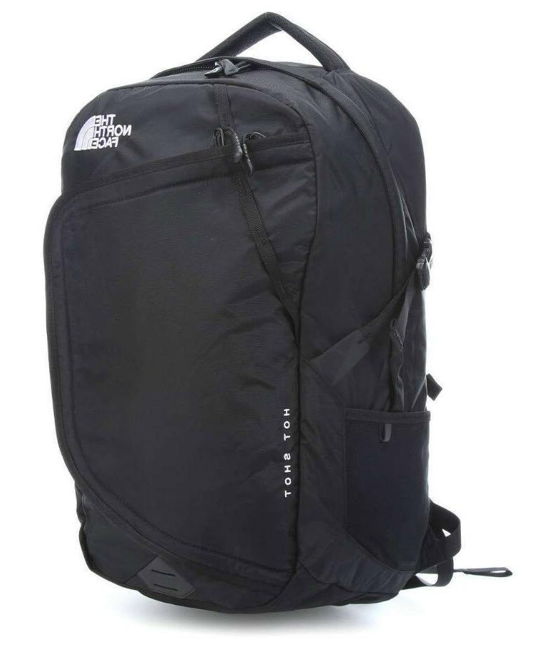 hot shot backpack laptop padded black brand