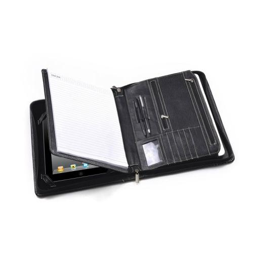 iPad Air 2 / iPad Air Zippered Padfolio w/ Writing Pad Holde