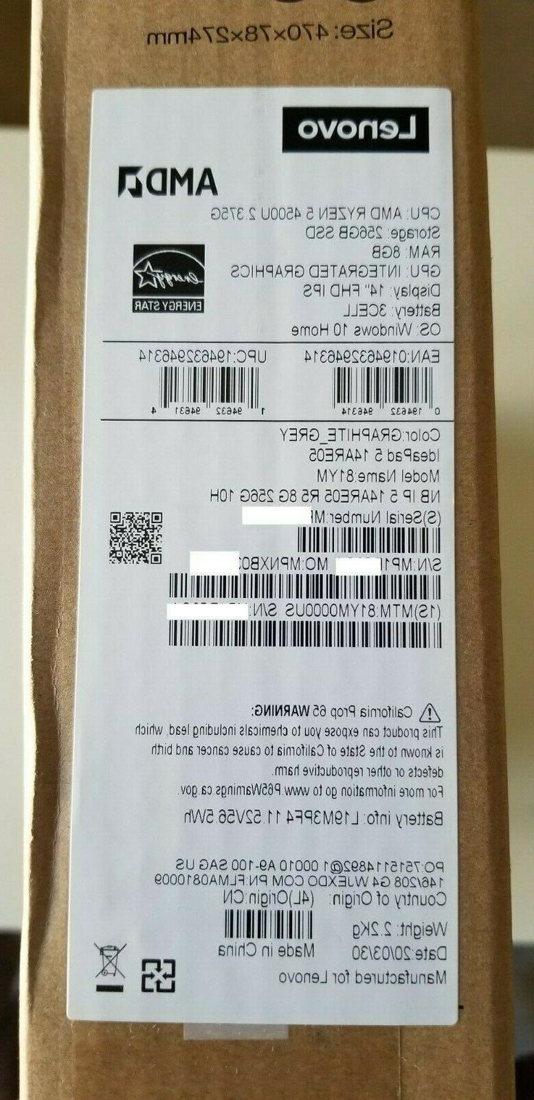 Lenovo IdeaPad 5 DDR4, New