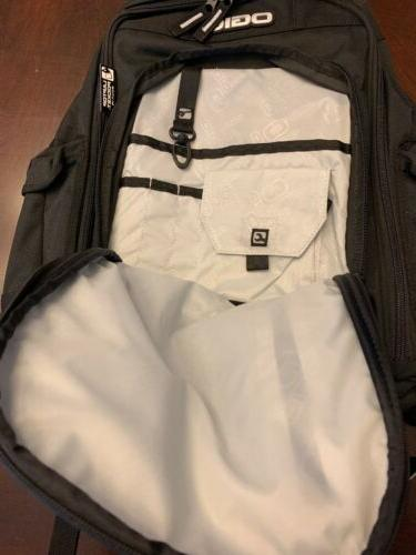 "Ogio Laptop Black Book Bag NOS 15"" Computer"