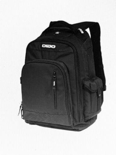 incline laptop backpack black book utility travel