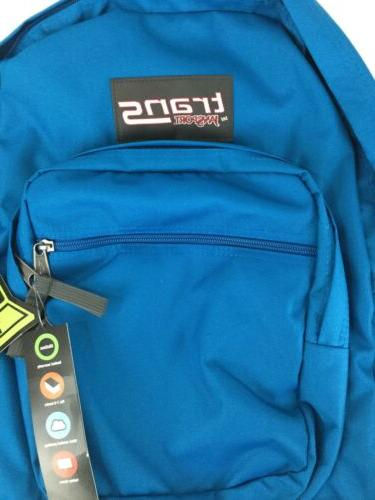 """Jansport SuperMax Backpack Moroccan Blue NEW 15"""" NO TAGS"""