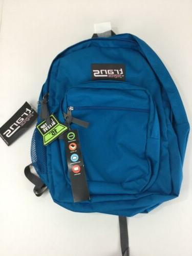 jansport supermax backpack trans moroccan blue 18