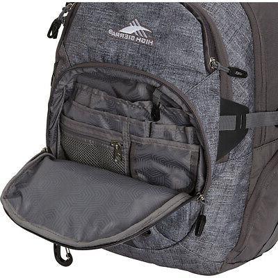 High Sierra Backpack Business & Laptop