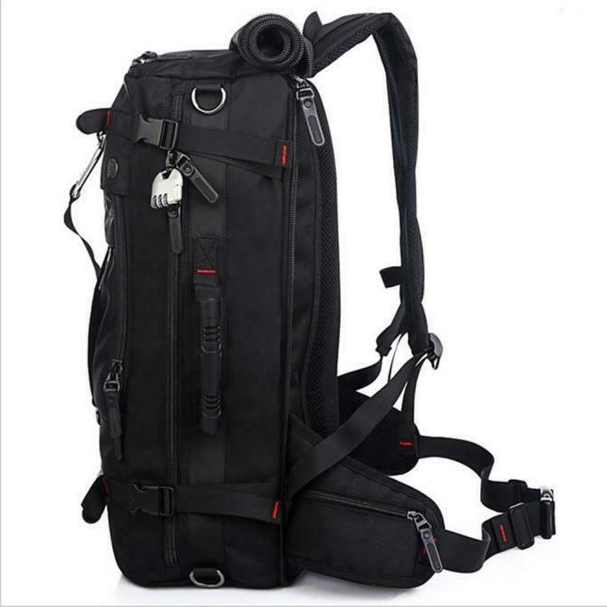 KAKA Backpack Black US STUCK