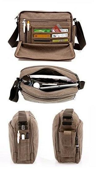 kenox classic multifunctional mens messenger bag crossbody