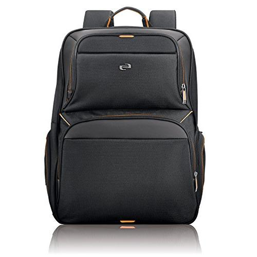 Solo Thrive 17.3 Inch Laptop Backpack, Black
