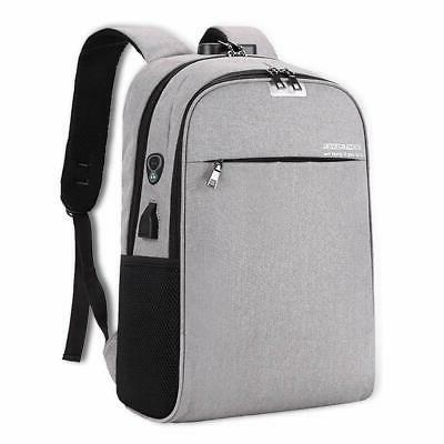 laptop backpack anti theft travel bag