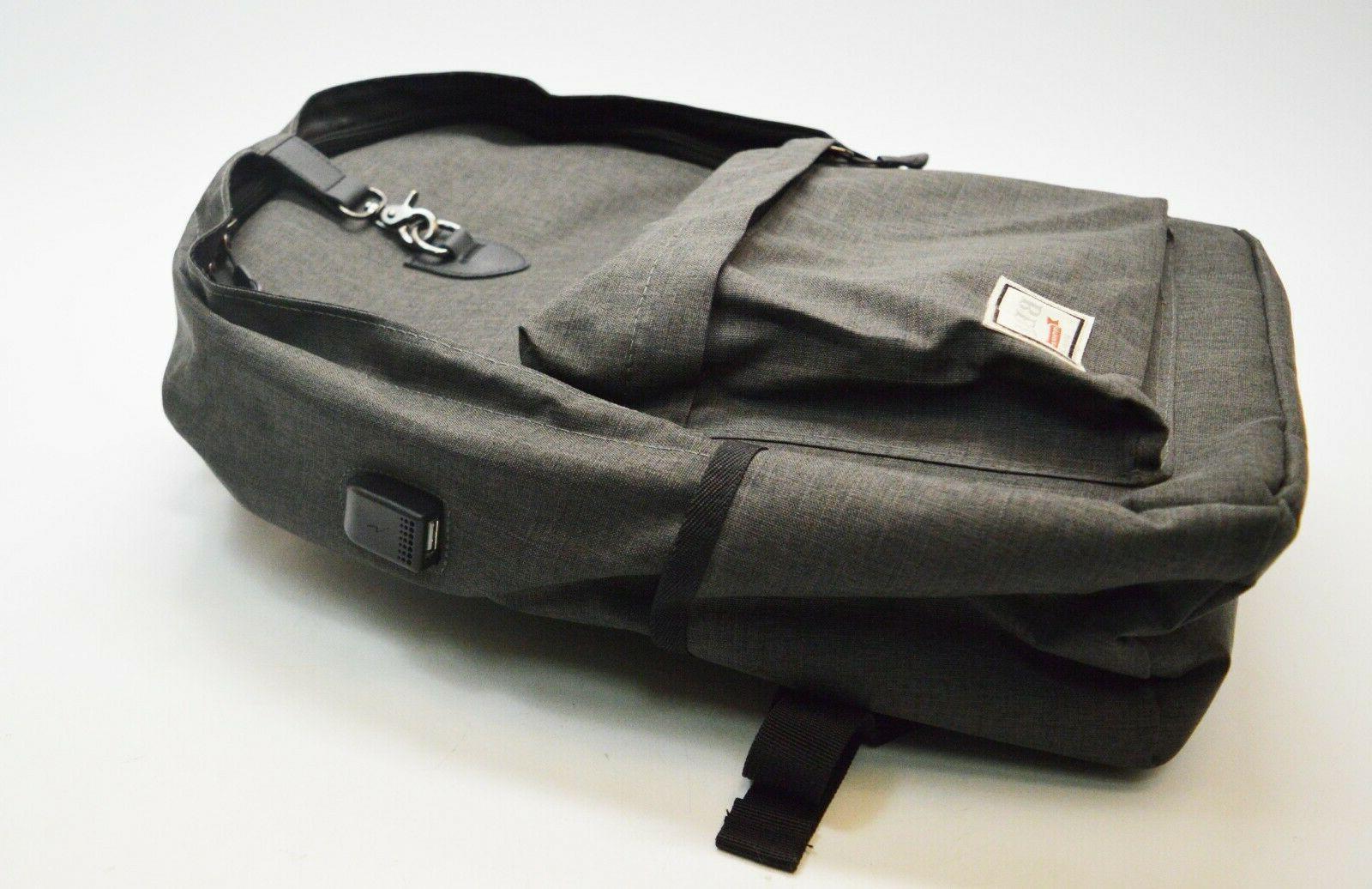 Beyle Backpack Water Resistant Plug-In Travel
