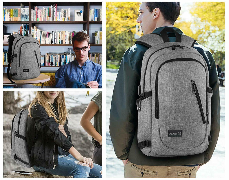 Mancro Laptop Business Anti Bag Women and Men