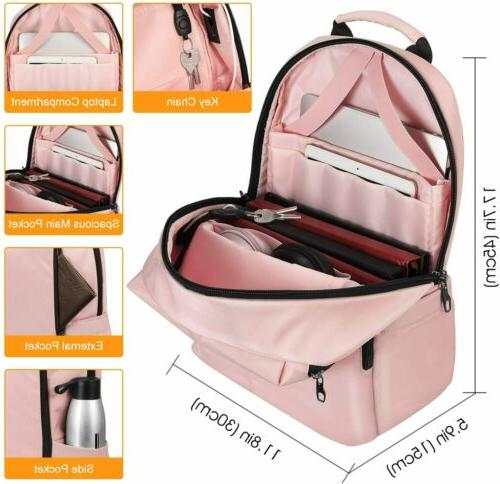 """FINPAC Laptop 15.6"""" Daypack Bag With USB Charging"""