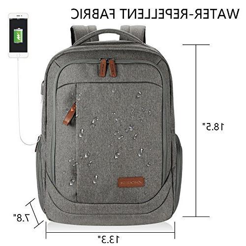 Inch Large School Water-Repellent USB Charging