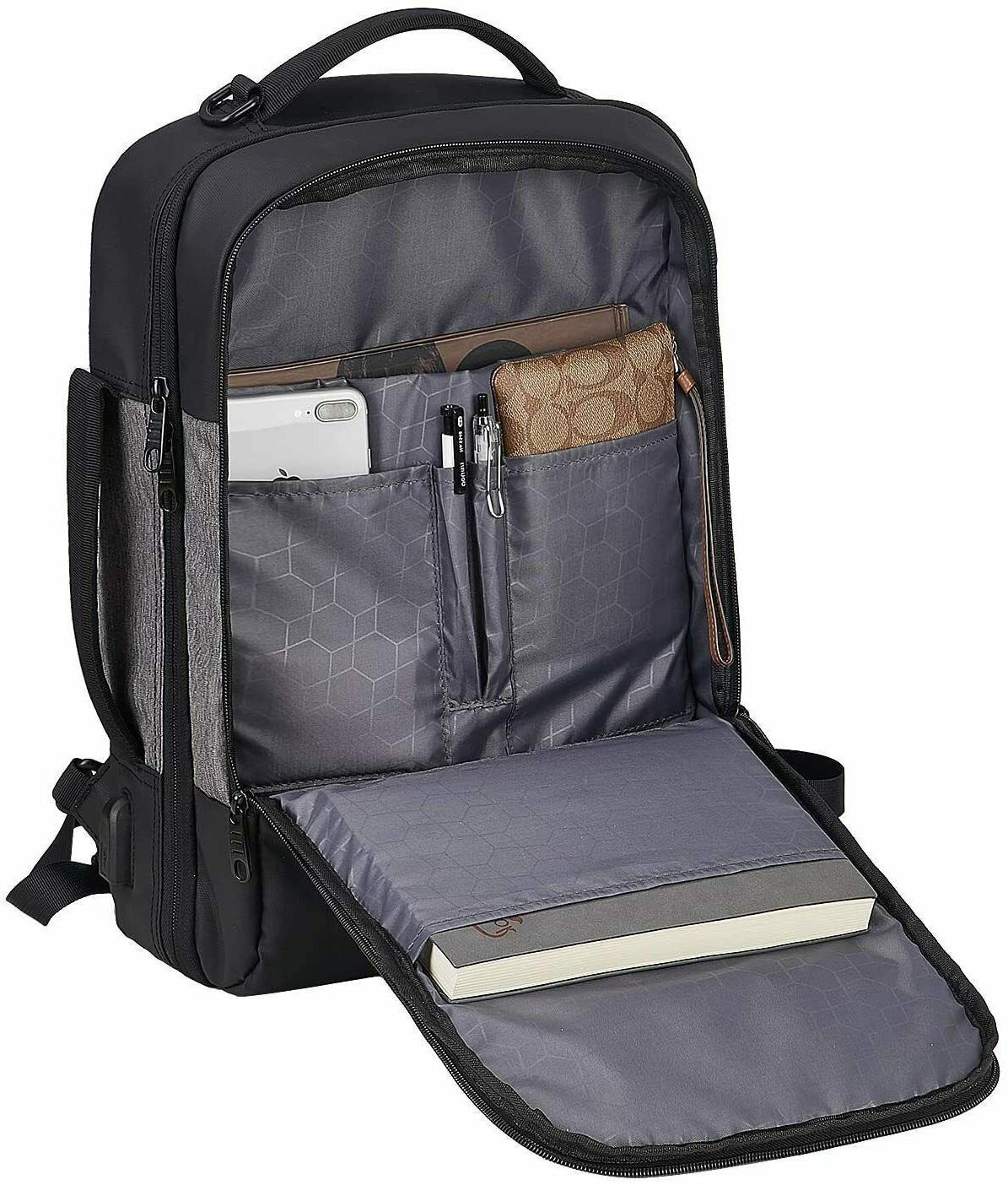 Laptop Men,Travel Backpack 15.6 Inch Laptop usb port