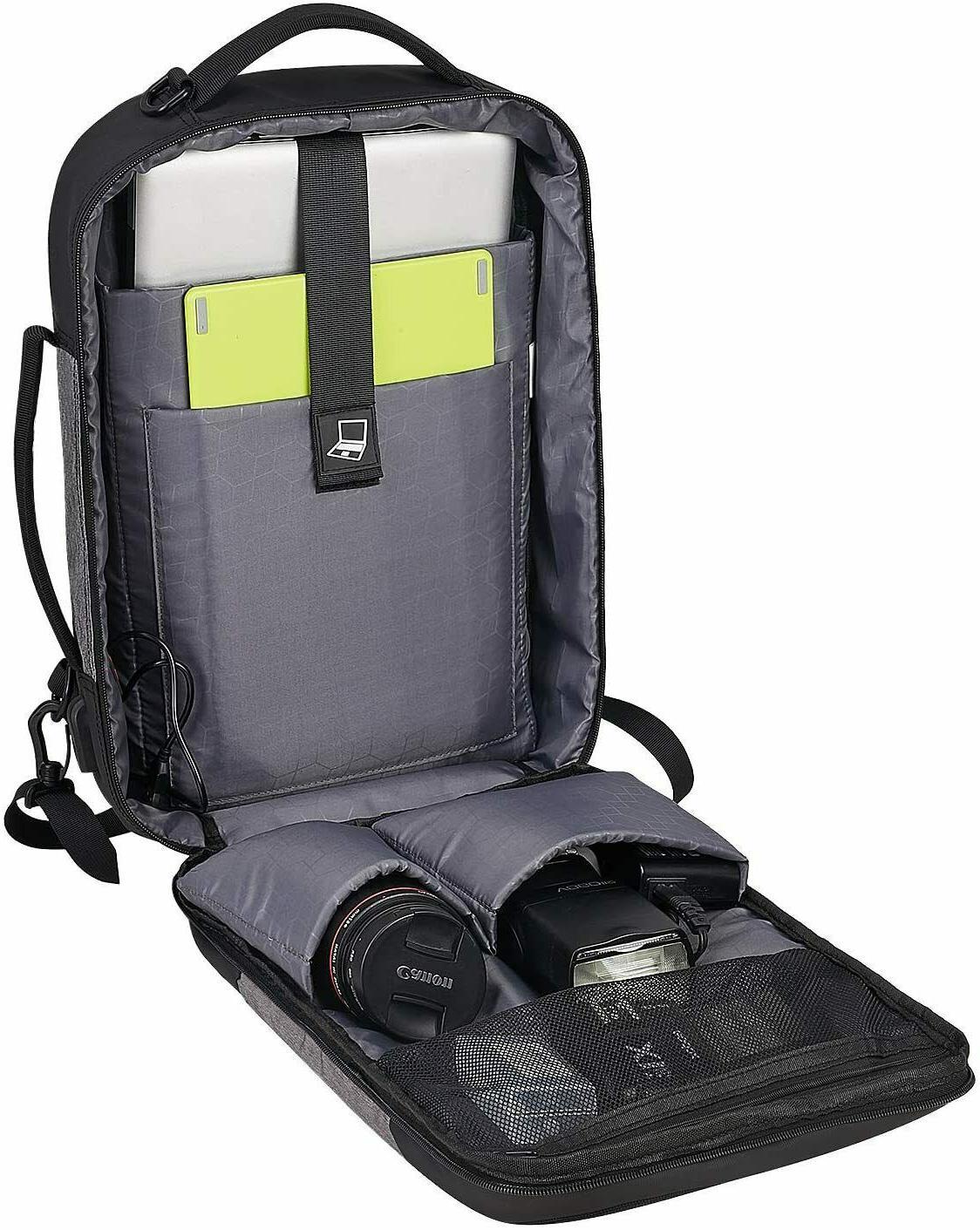 Laptop Backpack Men,Travel Inch port