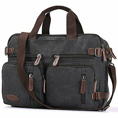 laptop backpack multifunction briefcase messenger bag 15