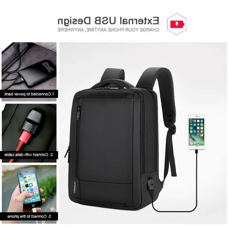 Laptop Backpack,Professional Business with USB Charging Port, Travel